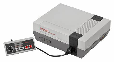 An image showing the Nintendo NES and its controller