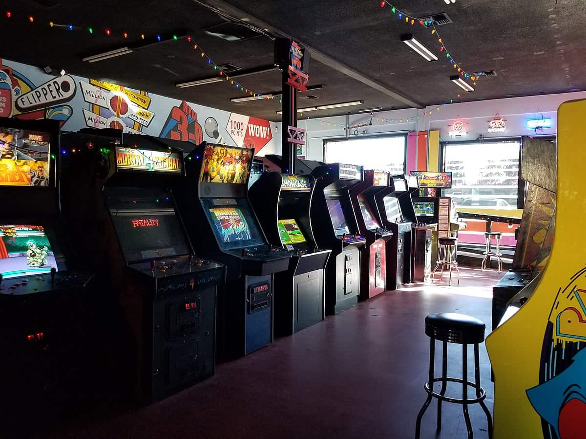 An image showing an arcade