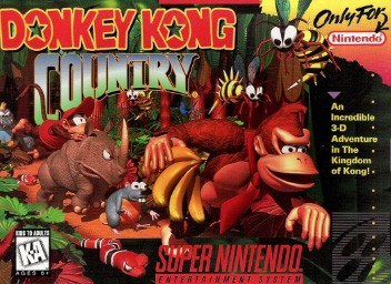 An image showing the cover of Donkey Kong