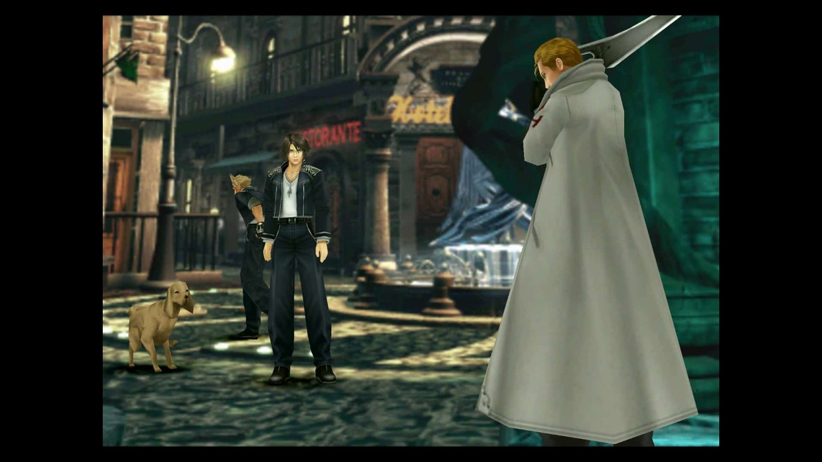 An image showing gameplay from Final Fantasy 8