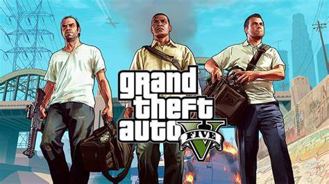 An image showing the cover for GTA 5