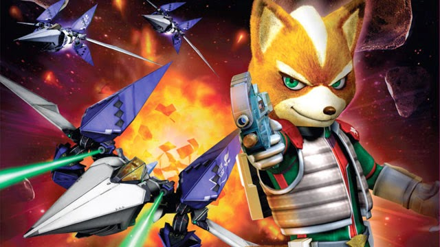 An image showing star fox